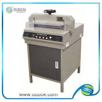 High Precision China A4 Size Paper Cutting Machine