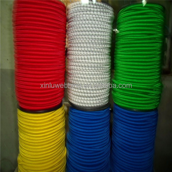 colorful elasticed shock cord
