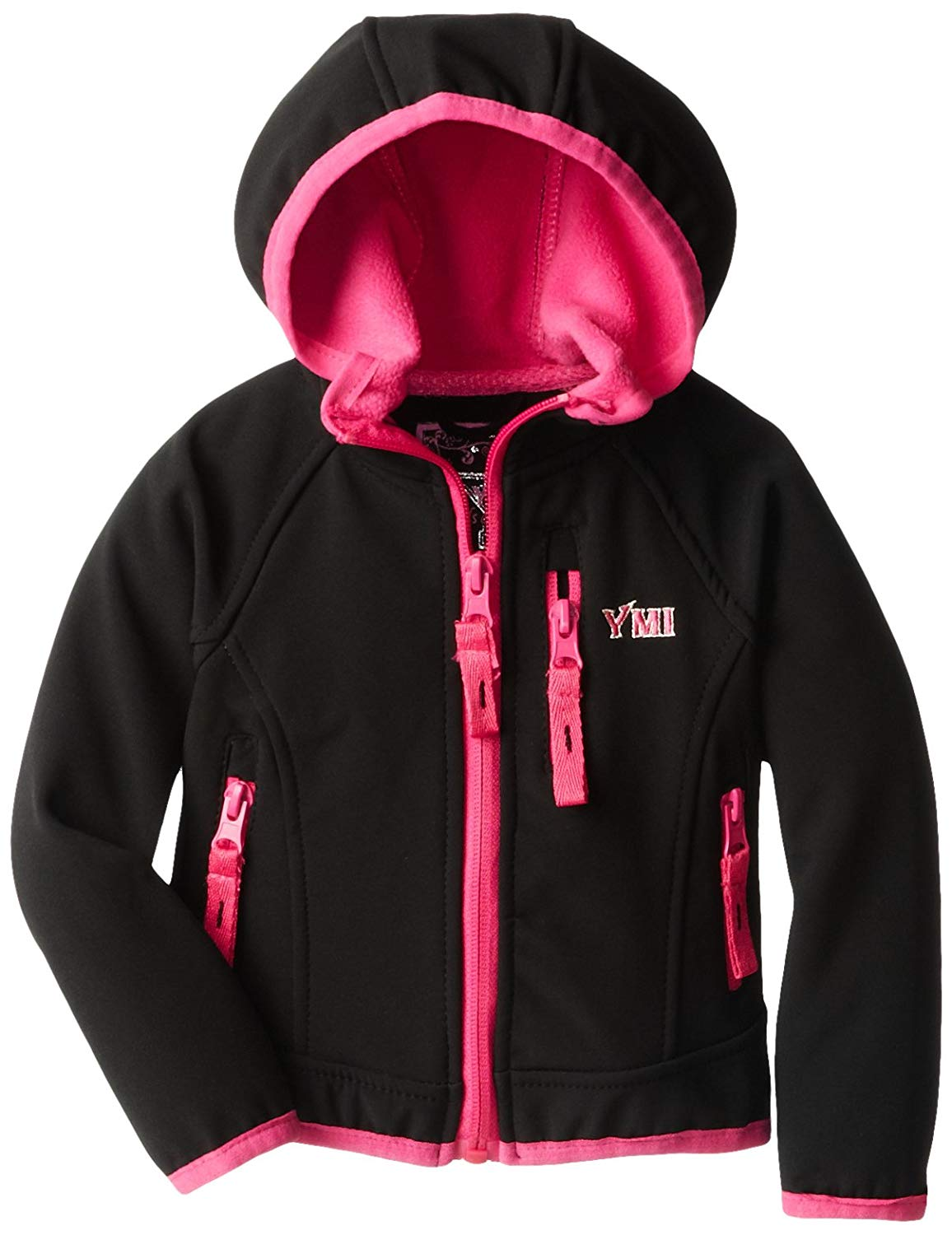 YMI Baby Girls' Soft Shell Jacket with Hood