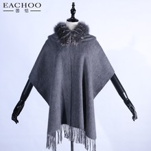 High quality handmade fur muffler warm ladies scarves with fur collar