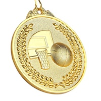 Design Gold Silver Bronze Plated Custom Made Metal Sports 3d Blank Basketball Award Medals