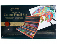 Mont Marte Premium Colour Pencils Box Set 72pce