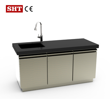 New Arrival Modern Kitchen Sink Cabinet Designs View Modern Kitchen Designs Sht Eureka Product Details From Jiangmen Eureka Decoration Material Company Ltd On Alibaba Com