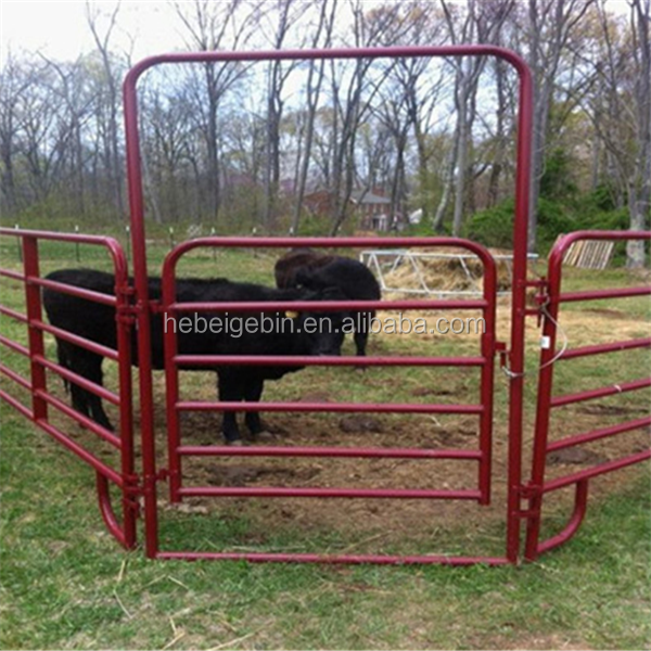 New Galvanized Metal Cattle Livestock Panels For Cattle