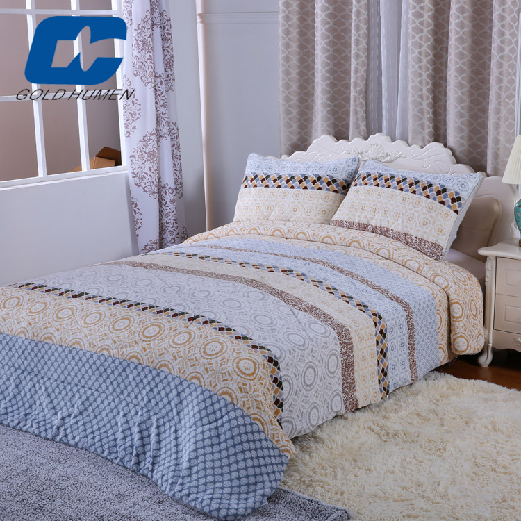 china supplier edding set 100% cotton cotton bedding set south korean blanket