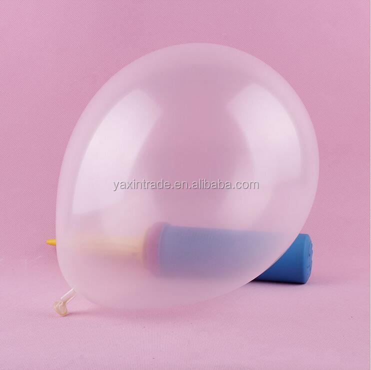 High Quality 12 Inch Clear Transparent Latex Balloon