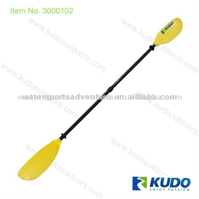 Kudo Adjustable Plastic Paddle Color Blade and Aluminum Shaft