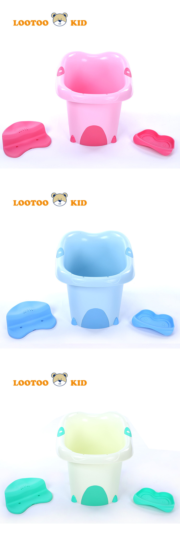 Alibaba trade assurance china factory cheap price durable plastic bucket folding plastic bathtub