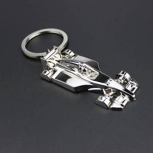 Wholesale blank keychains manufactures Metal Sports car key buckle chain