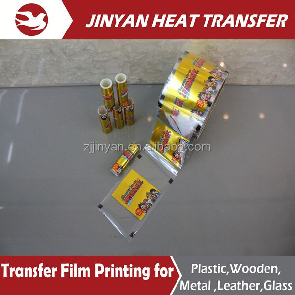 bright gold heat tansfer printing film
