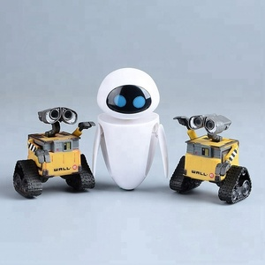 OEM,ODM,PVC children action figure-Wall-E and EVE mold toys