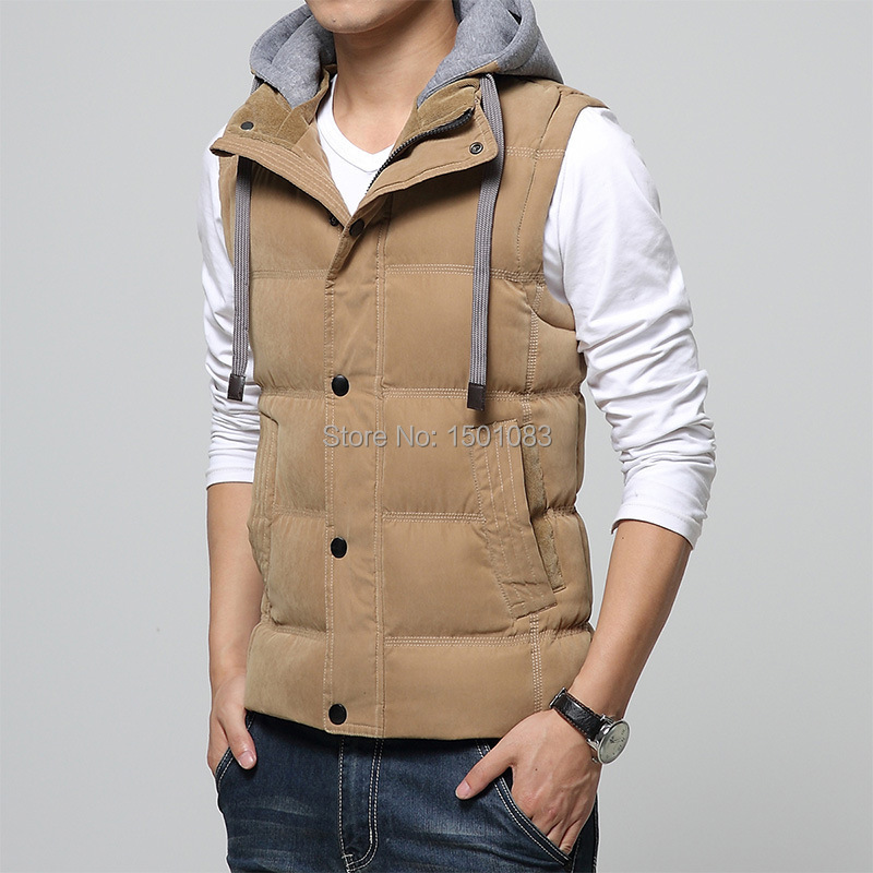 Sale! 2015 New Autumn and Winter Gilet Men Padded Vest ...