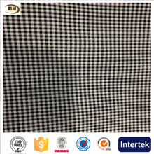 98% cotton 2% spandex yarn dyed grid fabric for garment and dress