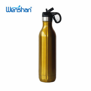 21oz water Bottle from Yiwu with cola bottle shape and straw lid