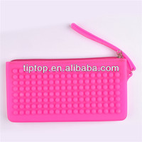 silicone cosmetic evening clutch bag