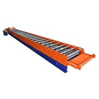 top quality automatic structure floor decking metal steel roof sheet roll forming machine