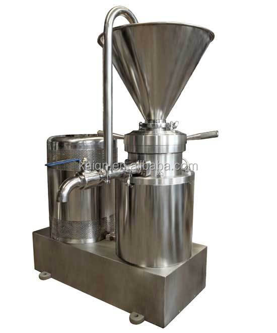 Grain Colloid Mill Colloid Mill For Food Industry Stainless Steel Colloid Mill