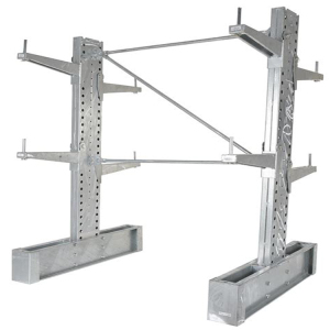 Merchandising steel metal cube shelving cantilever pallet rack for storage