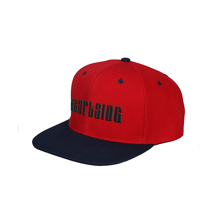 Fashion Wholesale Flat Brim Custom Made Snapback Cap/Hat