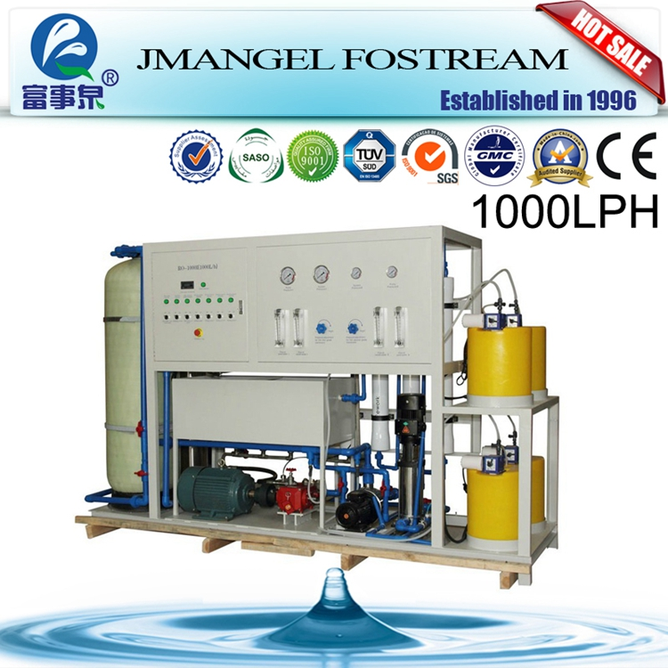Easy control ro small seawater purifier plant/ ro ocean water desalination manufacturers