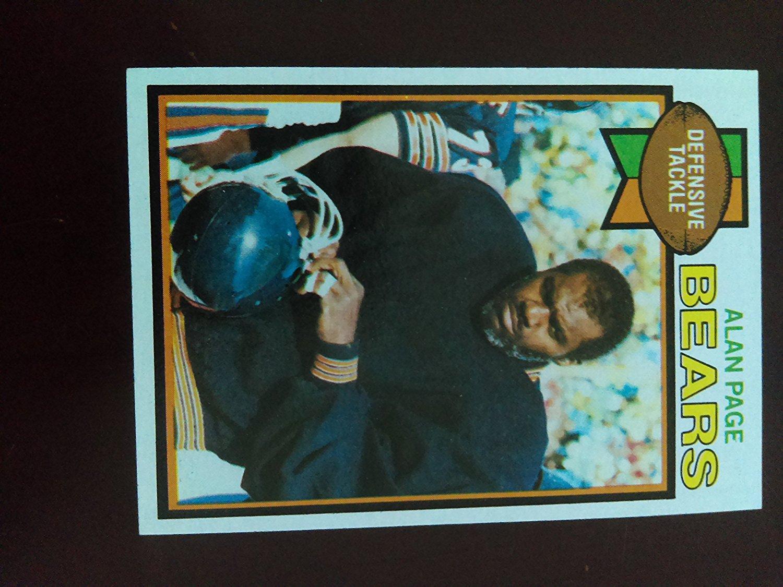 Alan Page (Football Card) 1979 Topps #15 - Chicago Bears / Minnesota Vikings / Notre Dame Fighting Irish - HALL OF FAMER