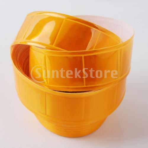 Бесплатная доставка желтый глянец пришить отражающая лента 33ft x дюйм