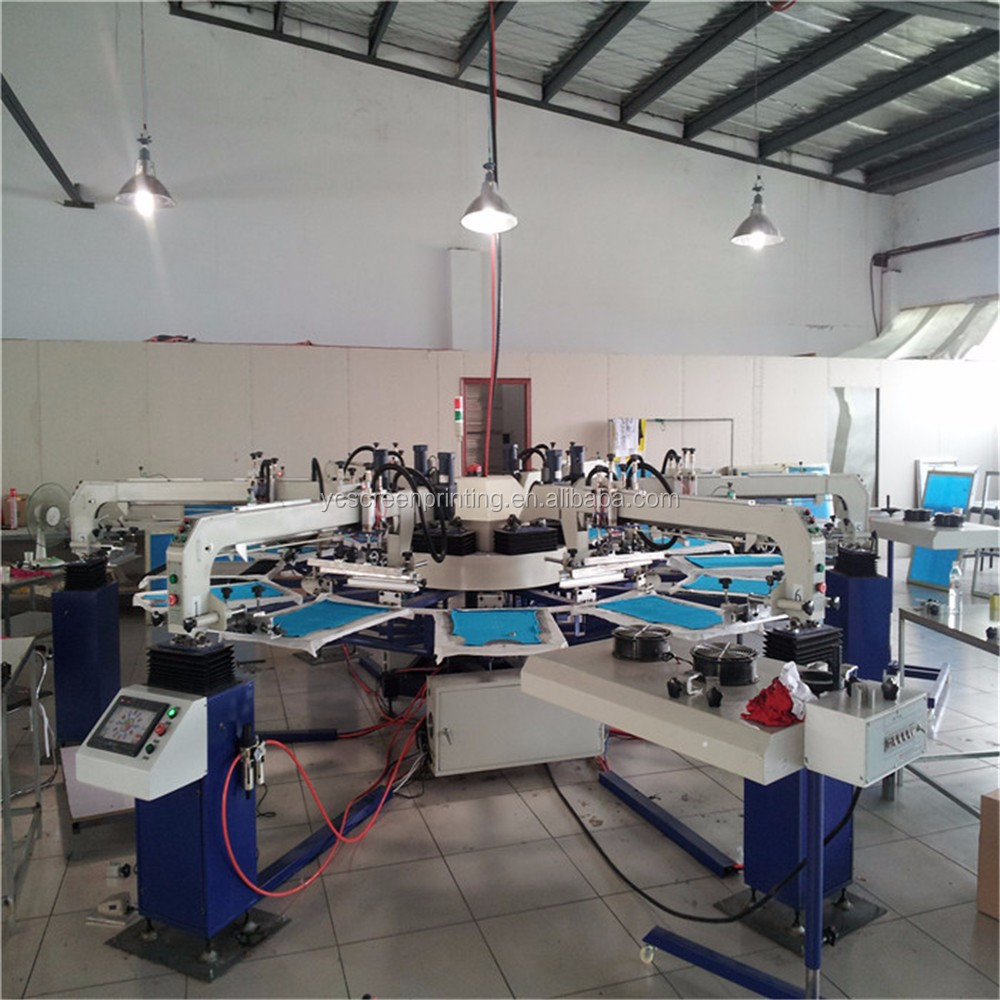 6colors24stations automatic printing machine