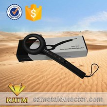 Round handheld metal detector MD200 probe tack wall wire probe High Sensitivity Metale Detector