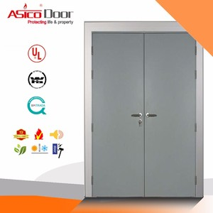 latest design and high quality superior quality fire rated steel armored door,fire door