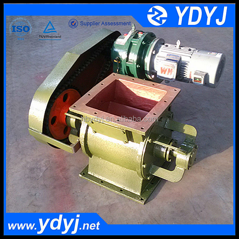 China good seal cast iron rotary valve for cement