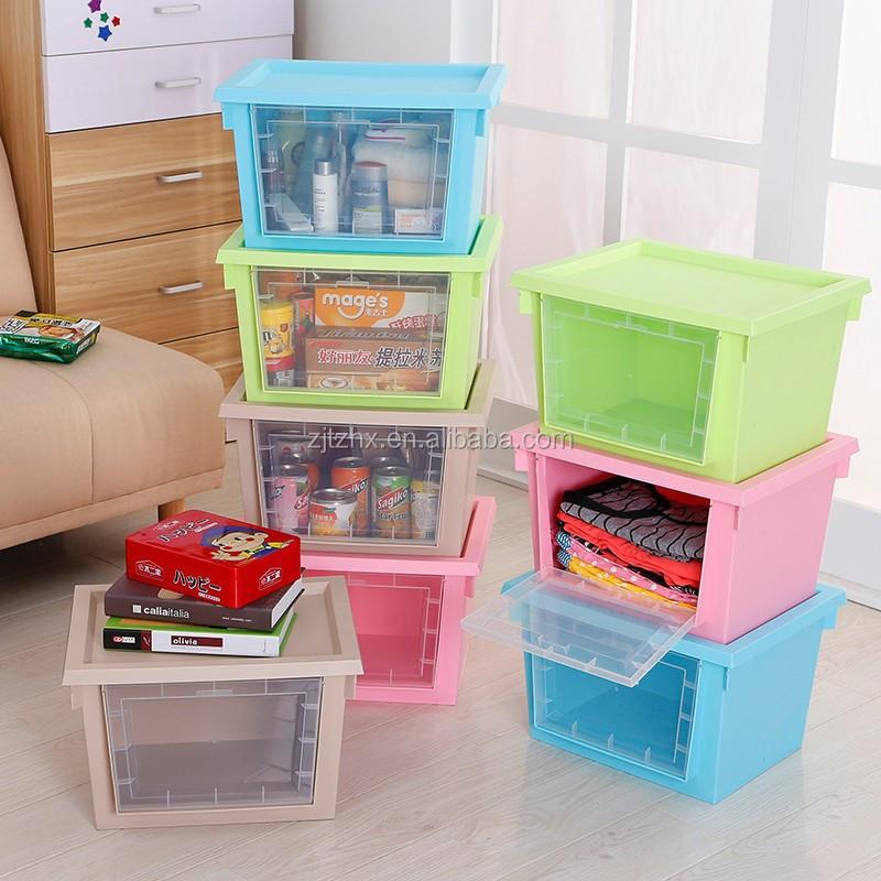 Organizadores de juguetes infantiles de 35 l en pl stico con aberturas y ventana transparente - Cajon para guardar juguetes ...