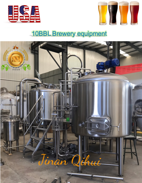 10 BBL Brewery with 5 Fermenters and Brite Tanks