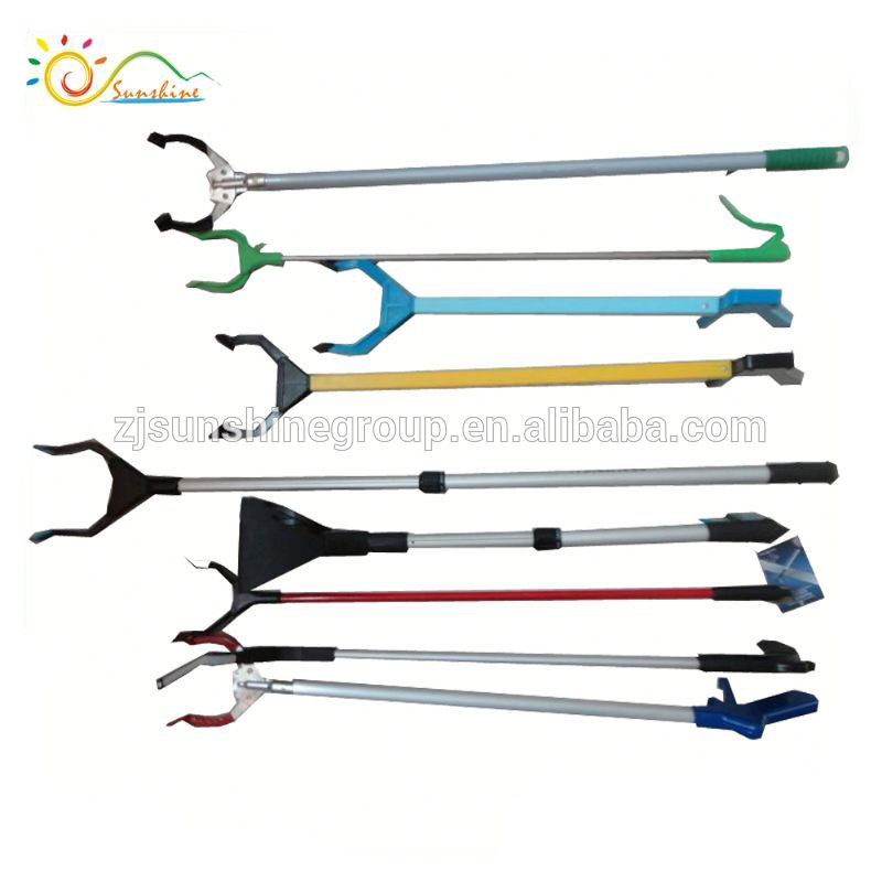 Handle grabber rubbish trash picker up tool claw grabber reaching tool  kitchen liter extend reacher tool