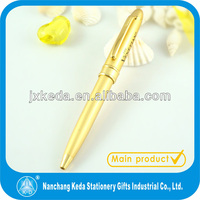 Cute body metal barre small executive pen