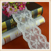 Cheap new design embroidery cotton lace trim wholesale for dress women garments curtains