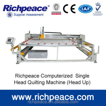 Richpeace Automatic Computerized High speed Single Head/Needle Quilting Machine