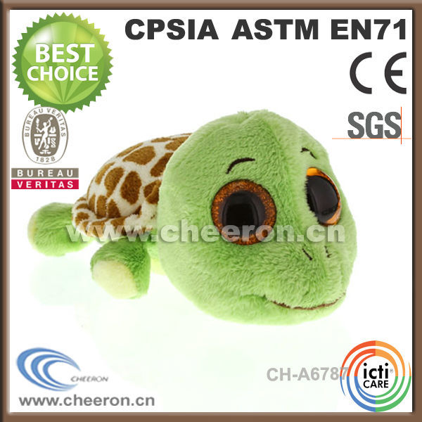 Novelty logoed promotional little green turtle toys