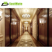 Use in Hall Villa Hotel Public Wall Panel 3d wooden wall covering