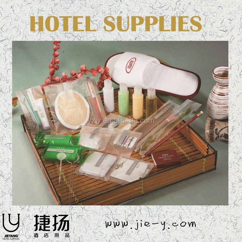 Hotel Amenity Set In Color Box Package With Razor And Sanitary Bag ...
