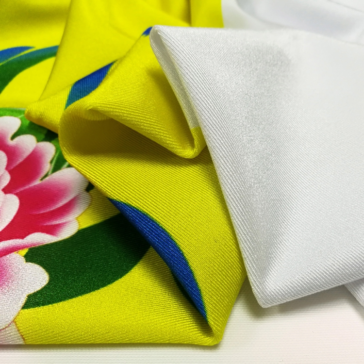 90/10 Polyester Dacron Material Cotton Lycra Fabric