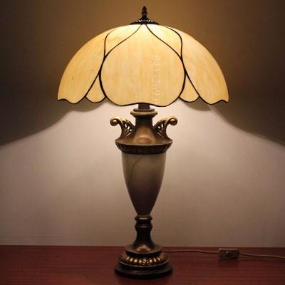 diseo de plegado estilo de tiffany lmpara de mesa para el dormitorio habitacin
