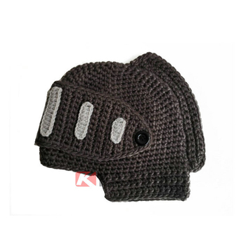 Knight Helmet Hat Free Knitted Pattern Buy Crochet Pattern Knight