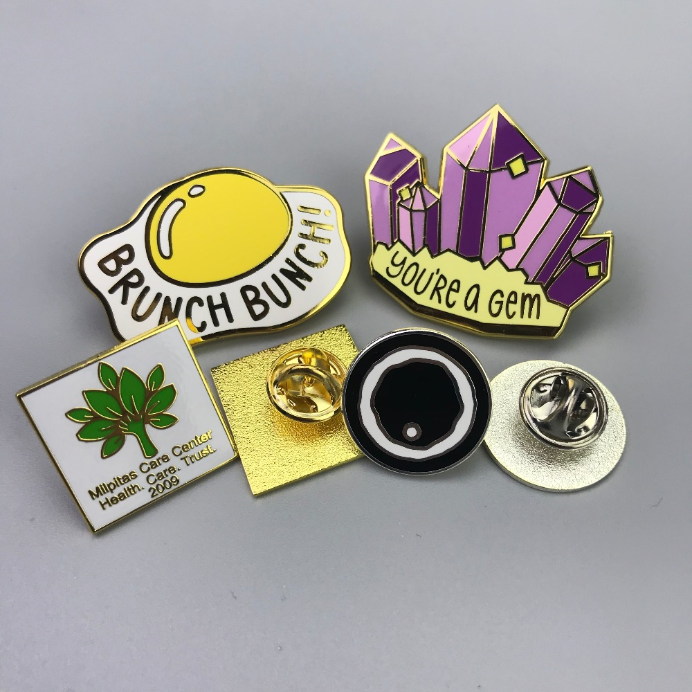 custom hard enamel pin for custom enamel lapel pin