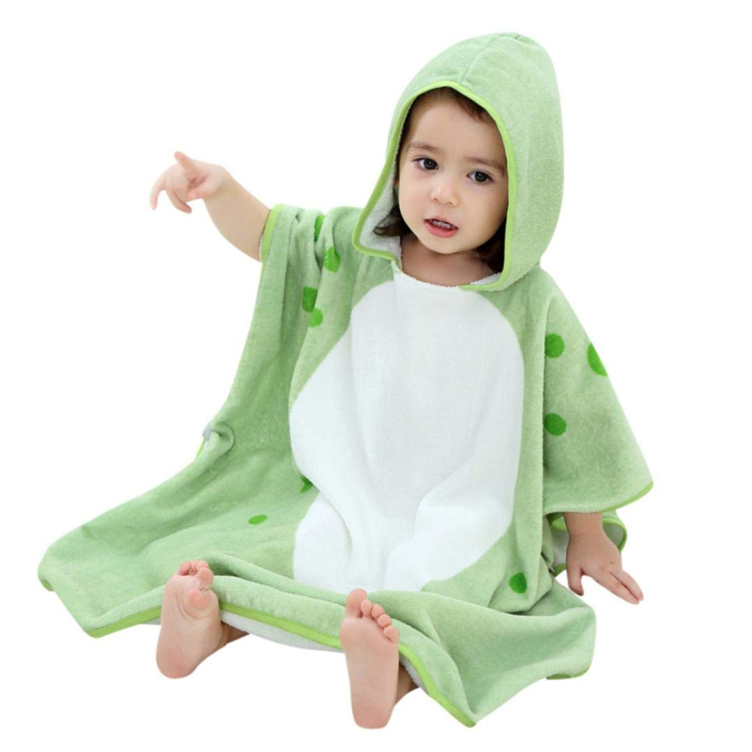 Get Quotations · AutumnFall Kids Soft Bathrobe Comfy Cartoon Animals Hooded  Cotton Robe Unisex Baby Hooded Gift All Seasons e28beac24