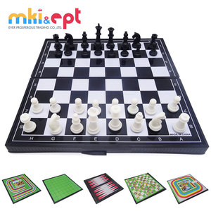 Crazy selling educational multifunction 12 in 1 game chess set for kids