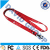 Soft Polyester Neck Lanyard With Release Buckle