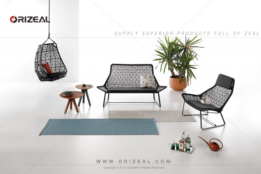 Outdoor 2- Seater Maia Rattan Sofa OZ-OR009