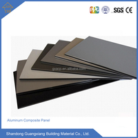 Interior metal wall Sandwich panels aluminum composite panel factory
