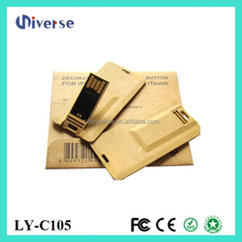 Fashional product usb smart card reader,credit card shaped usb flash drive,paper usb business card