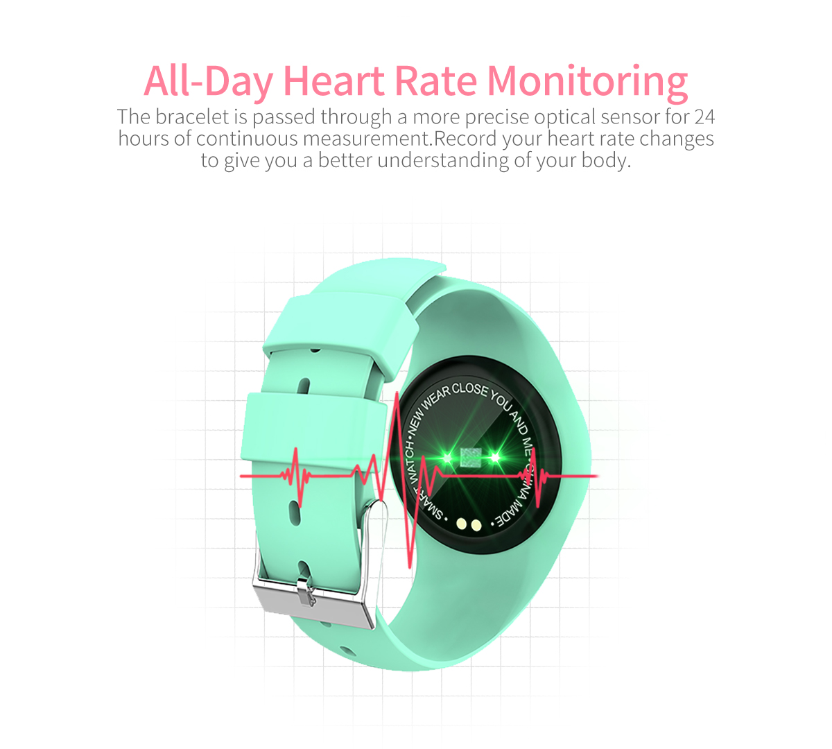 Factory direct sell Sport Smart Watch Fitness Tracker Waterproof,Bluetooth Smart Wristband,Sport Smart Heart Rate Monitor